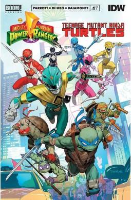 Кросовер Mighty Morphin Power Rangers / Teenage Mutant Ninja Turtles
